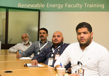 Renewable Energy Faculty Training